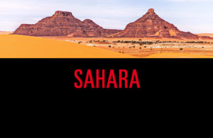 Sahara Desert Algeria and Chad